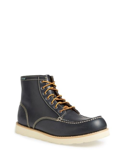 Eastland | Blue 'lumber Up' Moc Toe Boot for Men | Lyst