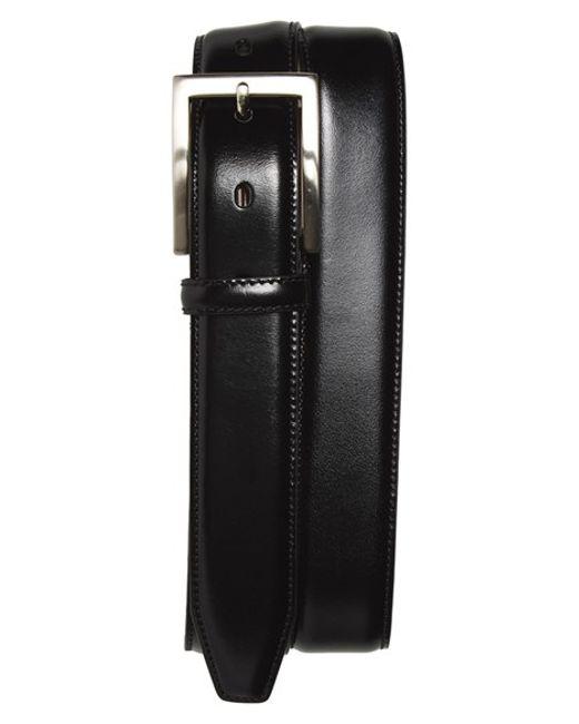 Johnston & Murphy | Black Calfskin Belt for Men | Lyst