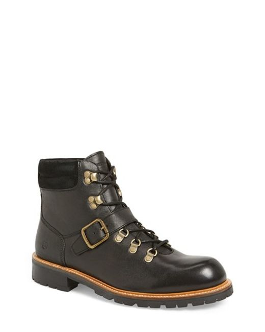 Andrew Marc | Black 'midwood' Plain Toe Boot for Men | Lyst