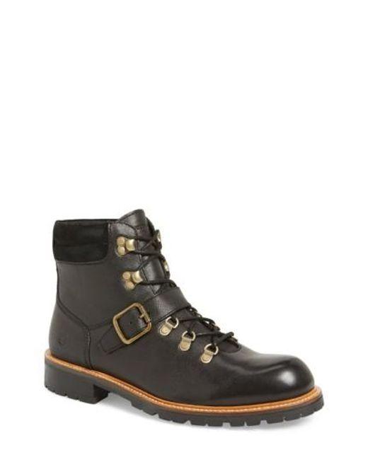 Andrew Marc | Black 'midwood' Plain Toe Boot for Men | Lyst