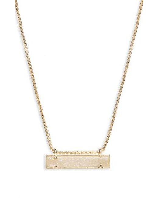 Kendra Scott | Metallic Leanor Pendant Necklace | Lyst