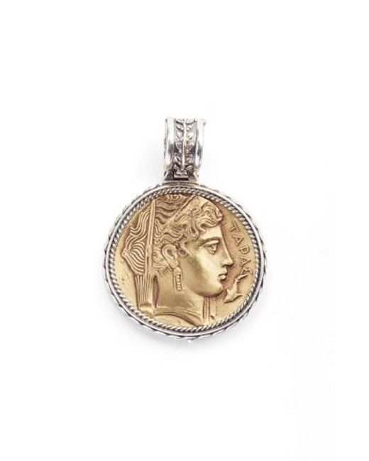 Konstantino | Metallic 'demeter' Coin Pendant | Lyst