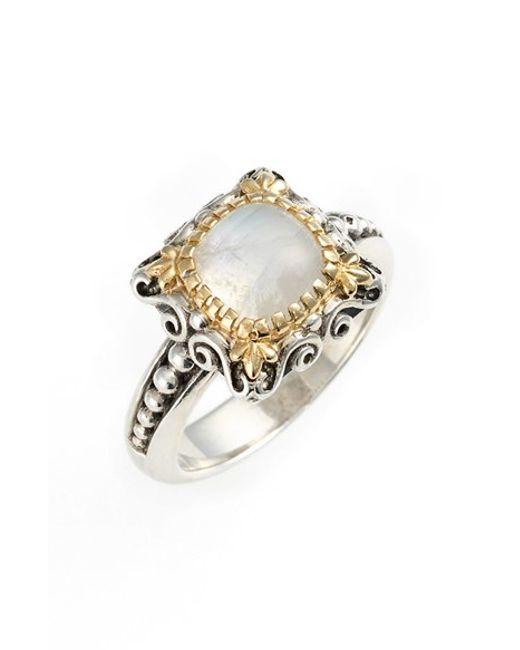 Konstantino | Metallic 'erato' Stone Ring | Lyst