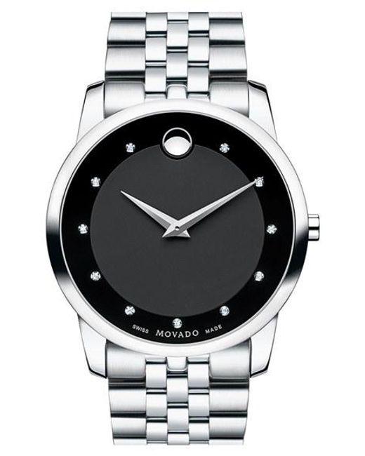 Movado   Metallic 'museum' Bracelet Watch for Men   Lyst