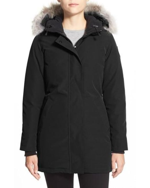 Canada Goose | Gray Victoria Down-Filled Jacket | Lyst