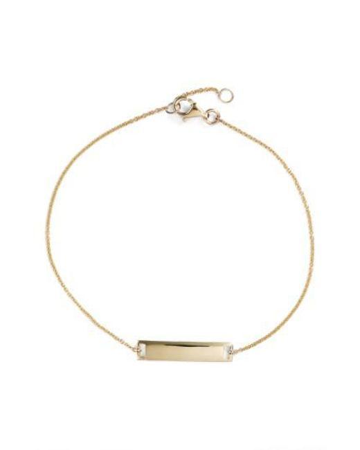 Bony Levy - Metallic Geo Bar Bracelet (nordstrom Exclusive) - Lyst