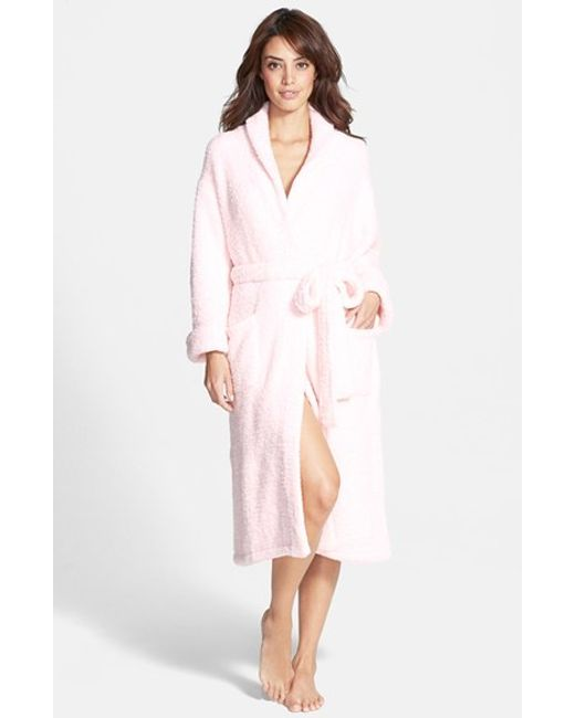 Barefoot Dreams | Pink Barefoot Dreams Cozychic Robe | Lyst