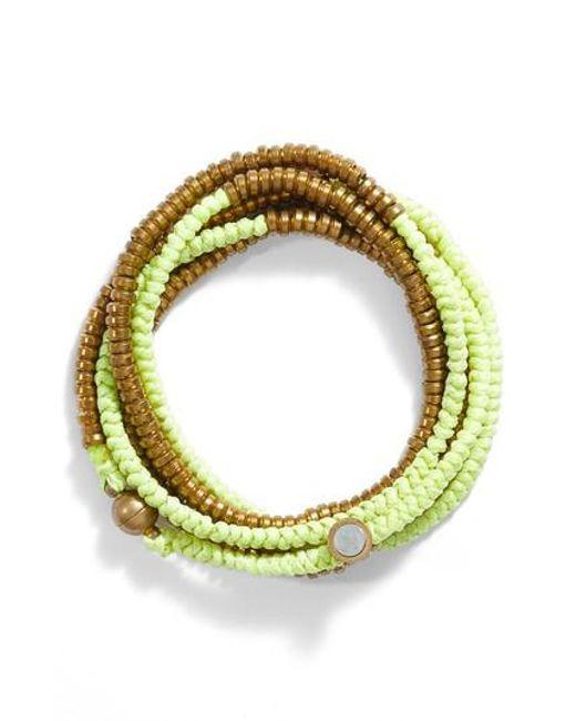 Serefina | Multicolor Beaded Wrap Bracelet | Lyst