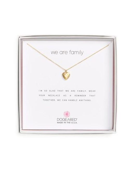 Dogeared | Metallic We Are Family Pendant Necklace | Lyst