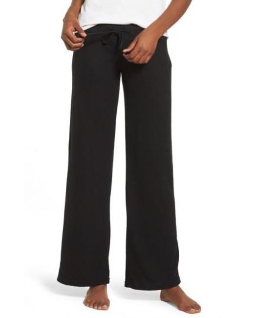 Make + Model | Black 'best Boyfriend' Brushed Hacci Lounge Pants | Lyst