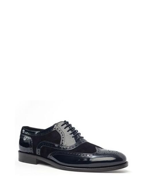 Jared Lang | Blue Wingtip for Men | Lyst