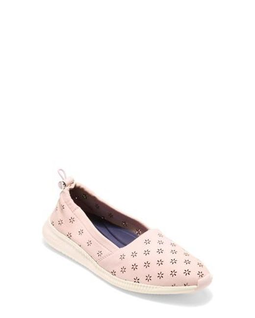 Cole Haan Women's Studiogrand Perforated Slip-On