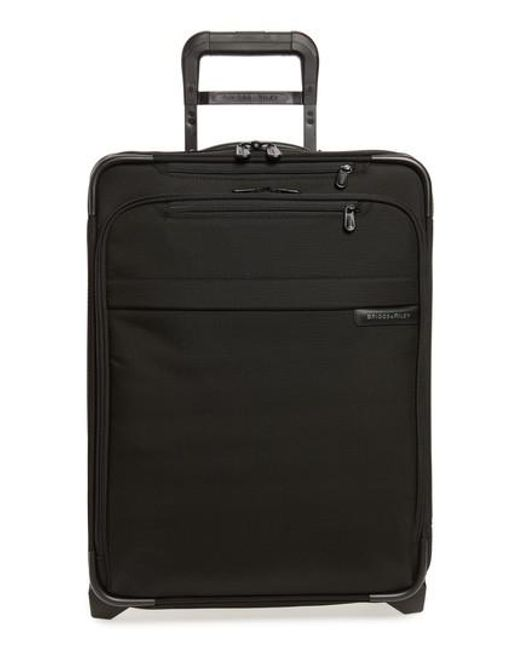 Briggs & Riley - Black 'baseline' International Expandable Rolling Carry-on for Men - Lyst