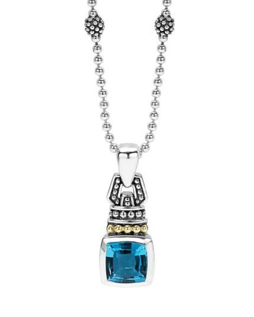 Lagos | Blue 'caviar Color' Pendant Necklace | Lyst
