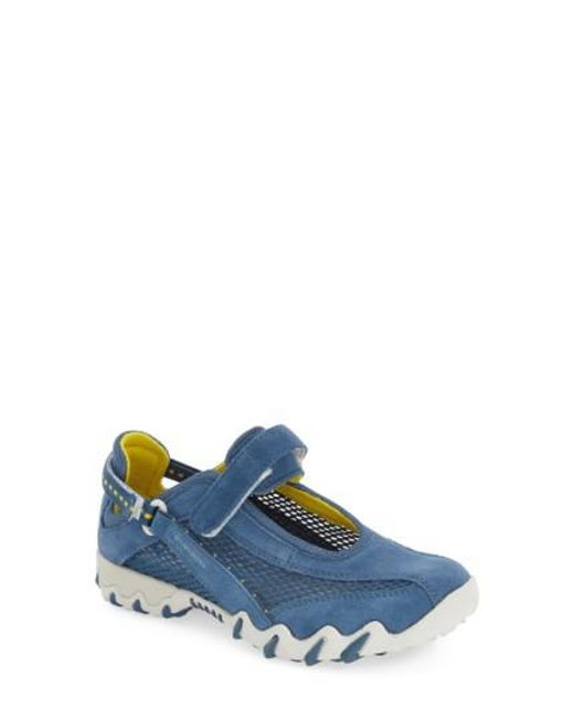 Allrounder By Mephisto | Blue 'niro' Athletic Shoe | Lyst