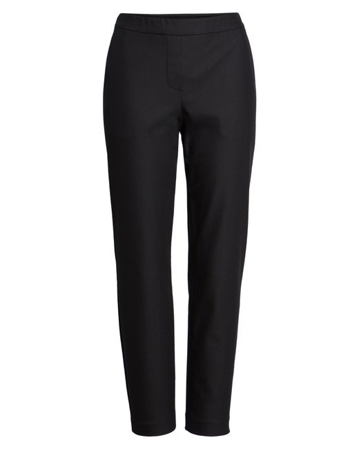 Theory - Black 'thaniel' Trousers - Lyst