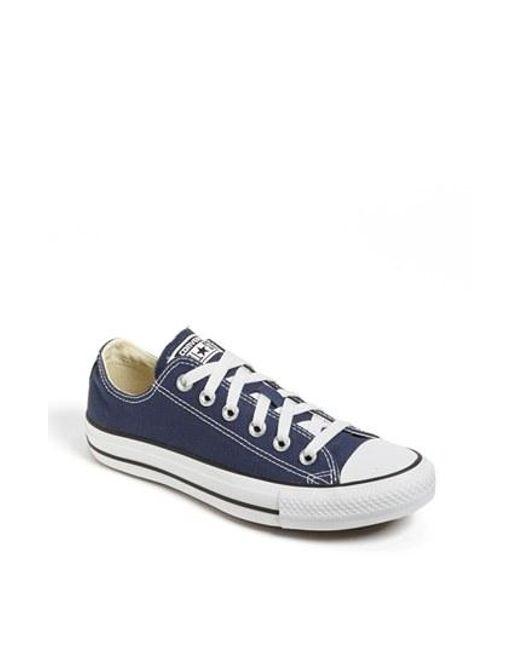 Converse | Blue Chuck Taylor Low Top Sneaker | Lyst