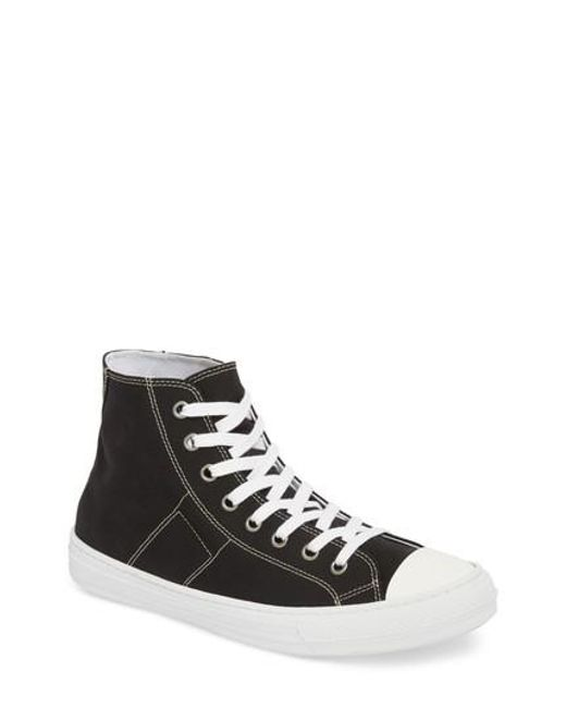 Black Stereotype High-Top Sneakers Maison Martin Margiela WdCiX