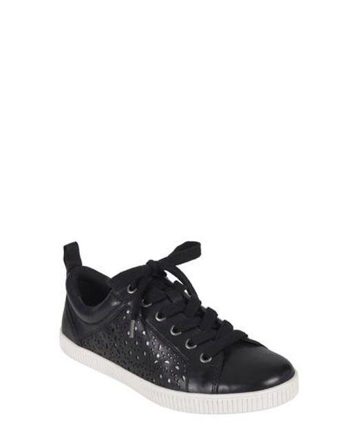 Earth - Black Earth Tangor Perforated Sneaker - Lyst