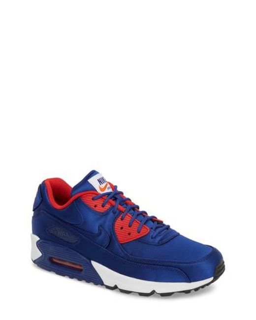 20a7cc9997 Lyst - Nike Air Max 90 Se Sneaker in Blue for Men