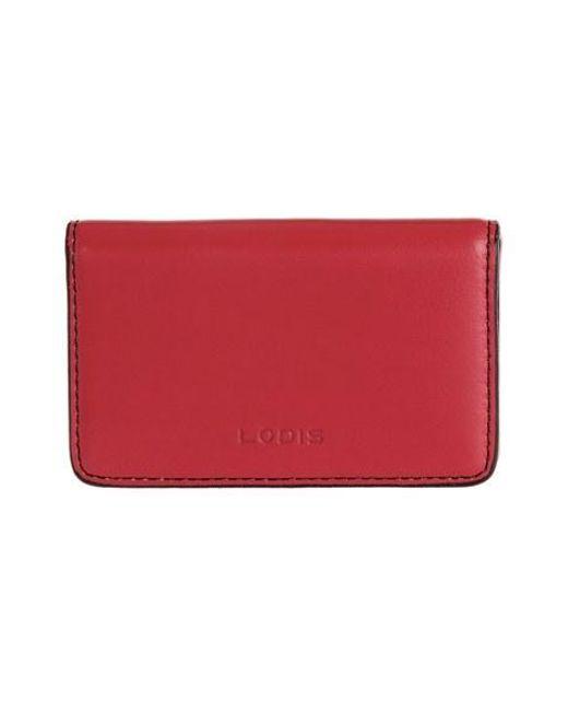 Lodis   Red Mini Card Case   Lyst