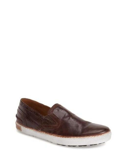 Blackstone | Brown Scm 003 Slip-On Sneakers for Men | Lyst