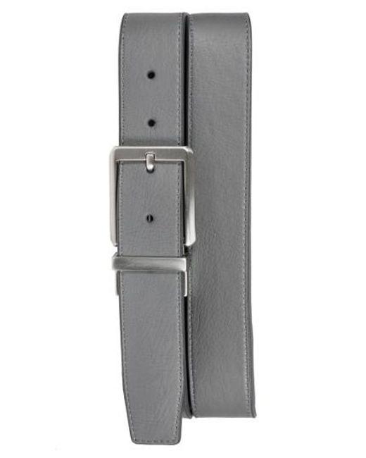 Nike - Gray Core Reversible Leather Belt for Men - Lyst
