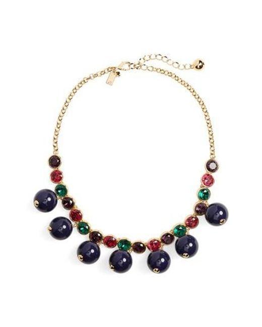 Kate Spade | Multicolor True Colors Bauble Necklace | Lyst