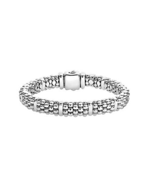 Lagos   Metallic Oval Rope Caviar Bracelet   Lyst