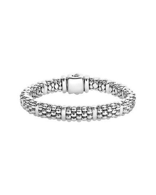 Lagos | Metallic Oval Rope Caviar Bracelet | Lyst
