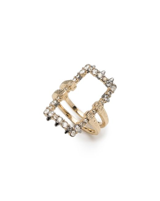 Alexis Bittar - Metallic Elements Crystal Encrusted Ring - Lyst