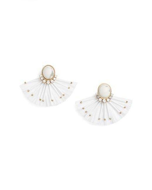 Kate Spade | Metallic Fiesta Fringe Earrings | Lyst