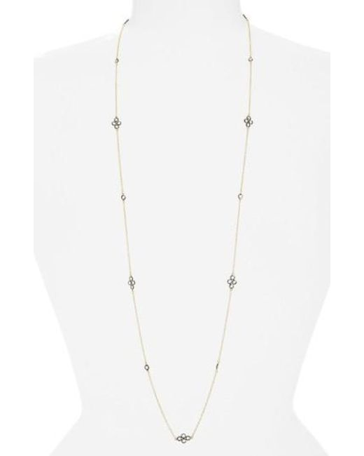 Freida Rothman | Metallic 'the Standards' Long Station Necklace | Lyst