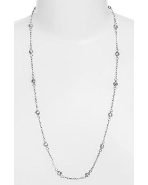 Konstantino | Metallic 'classics' Station Necklace | Lyst
