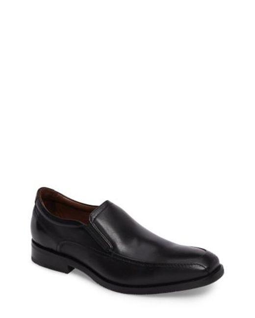 Johnston & Murphy   Black Bartlett Loafer for Men   Lyst