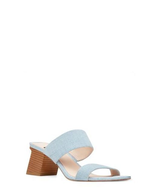 Nine West - Blue Churen Sandal - Lyst