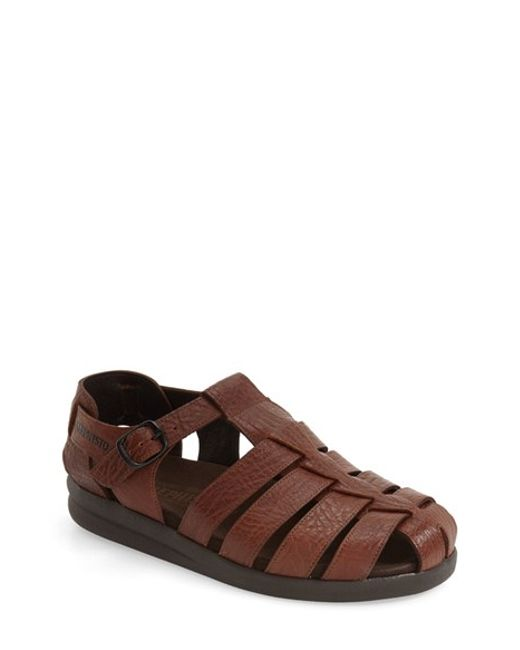 Mephisto | Brown 'sam' Sandal for Men | Lyst