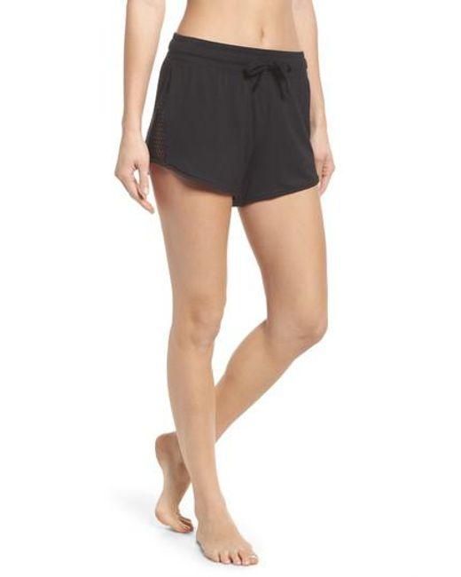 Alo Yoga - Black Shade Shorts - Lyst