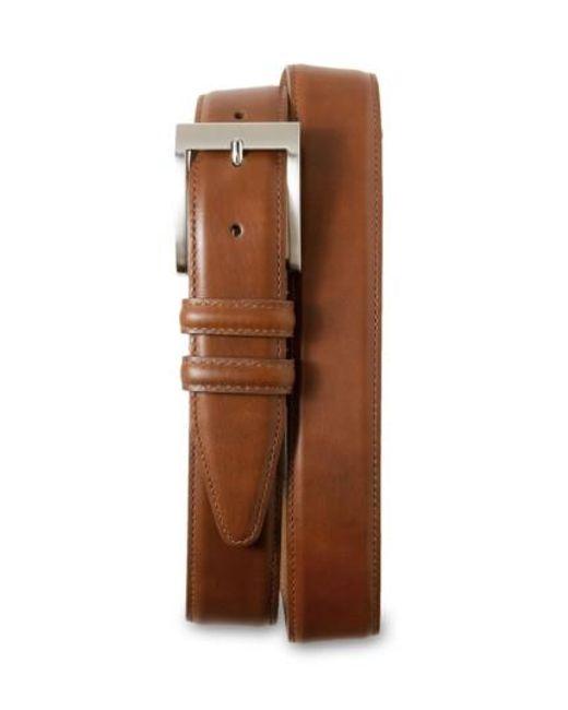 Allen Edmonds | Brown Classic Wide Belt for Men | Lyst