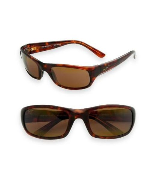 Maui Jim | Brown 'stingray - Polarizedplus2' 56mm Sunglasses for Men | Lyst