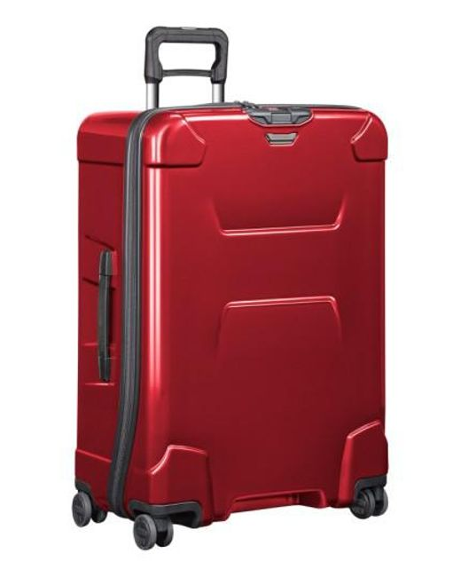 Briggs & Riley   Red 'torq' Large Wheeled Packing Case for Men   Lyst