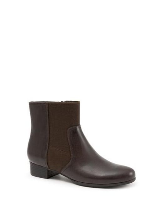 Trotters | Brown Monte Bootie | Lyst