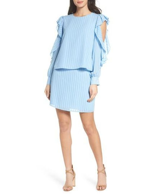 Ali & Jay - Blue When The Moon Hits Your Eye Two-piece Dress - Lyst