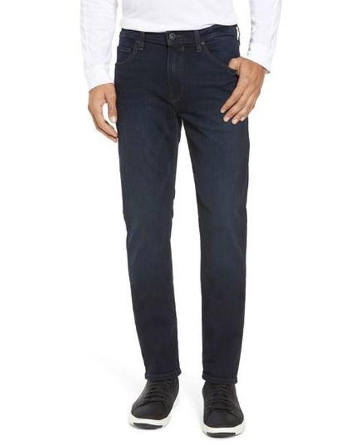 PAIGE | Blue Lennox Slim Fit Jeans for Men | Lyst