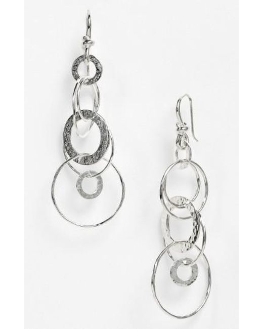 Ippolita | Metallic 'jet Set' Drop Earrings - Sterling Silver | Lyst