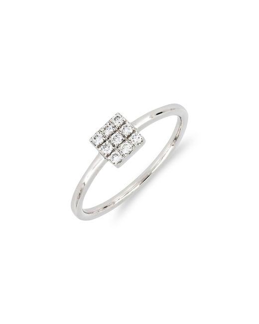 Bony Levy - Metallic Kiera Square Diamond Stack Ring (nordstrom Exclusive) - Lyst