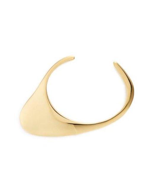 Charlotte Chesnais - Metallic Small Ada Cuff Bracelet - Lyst