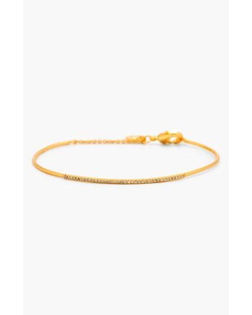 Gorjana   Metallic 'shimmer Bar' Pave Bracelet   Lyst