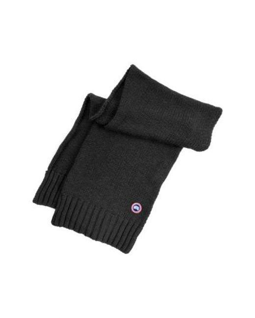 canada goose black scarf