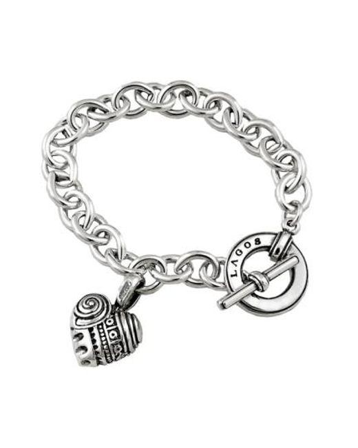 Lagos - Metallic 'hearts Of ' Charm Bracelet - Lyst